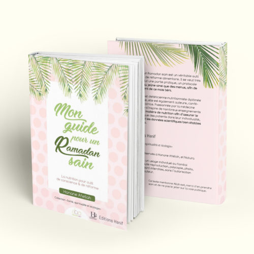 Hanane Afellah - Mon guide pour le jeûne - My Healthy Ramadan Planner - Ebook éditions Hanif