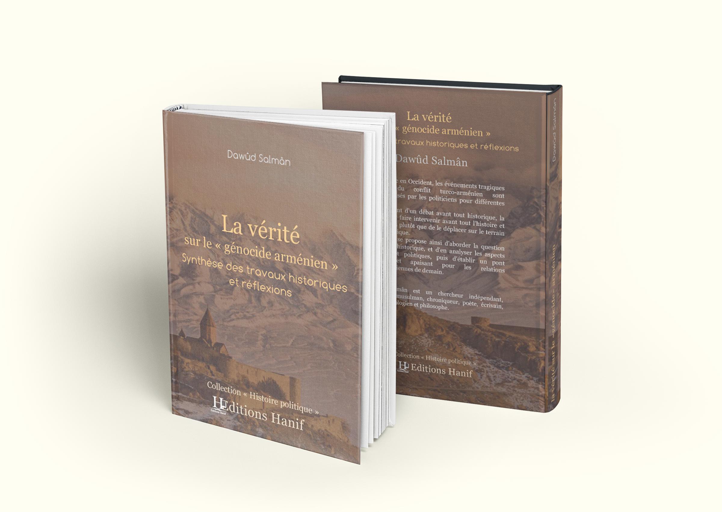 """Ebook """"La vérité sur le «génocide arménien», Synthèse des travaux historiques et réflexions"""", de Dawûd Salmân"""