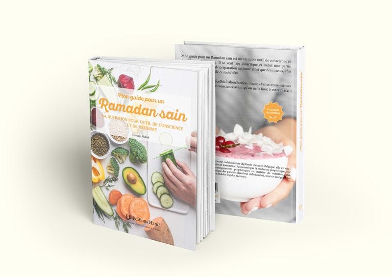 """Livre """"Mon guide pour un Ramadan sain, La nutrition comme état de conscience et de réforme"""", de Hanane Afellah"""